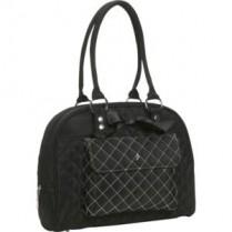 JP Lizzy Black Tea Cate Shoulder Diaper Bag