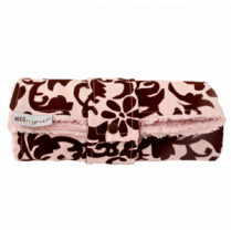 Jet Setter Pink Damask Travel Changing Pad