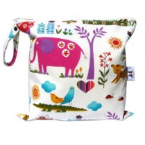 Juicy Jungle Baby Wet Bag Diaper Clutch